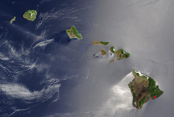 Hawaii Satellite Image