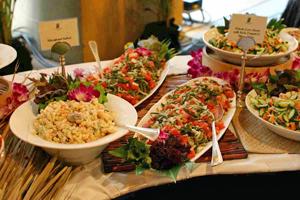 Hawaiian Food on Polynesian Cultural Center Buffet