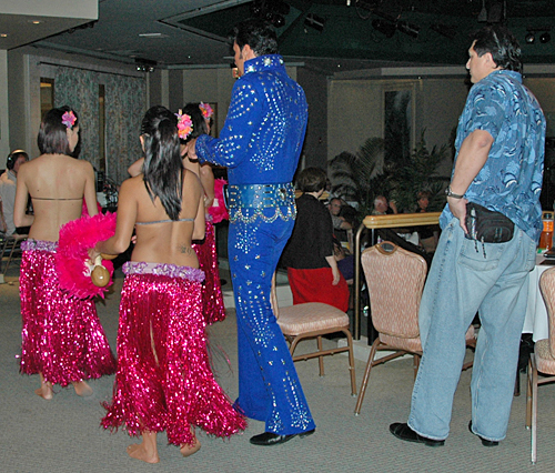 Jonathan Von Brana With His Hulal Dancers