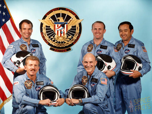 Crew of Space Flight STS 51-C